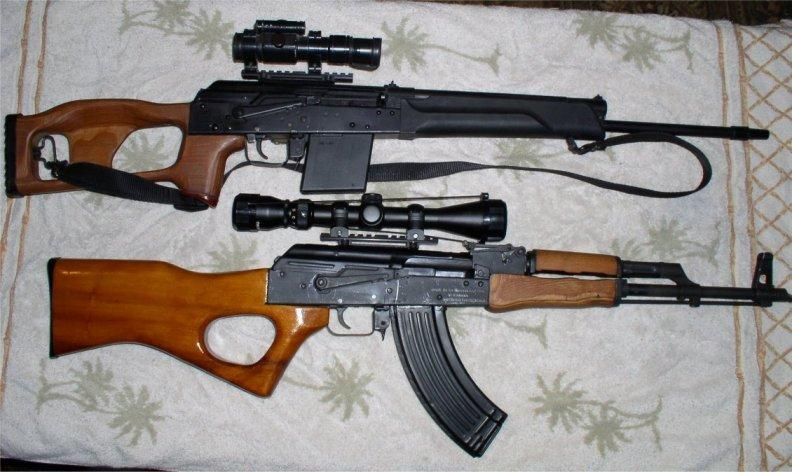 AK and Saiga