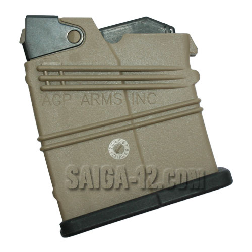 AGP S12 2-Round  Magazine DARK EARTH