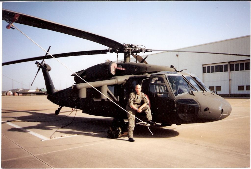 Me Ft Hood, TX 2000....my fist aircraft as a new crew chief