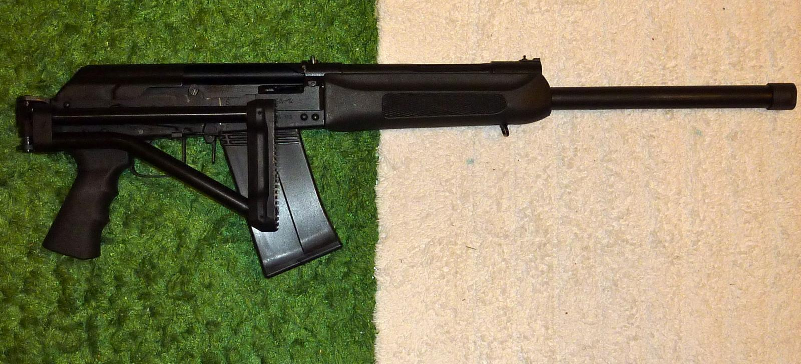 Bonesteel Arms folding stock for Saiga 12 - First Impressions