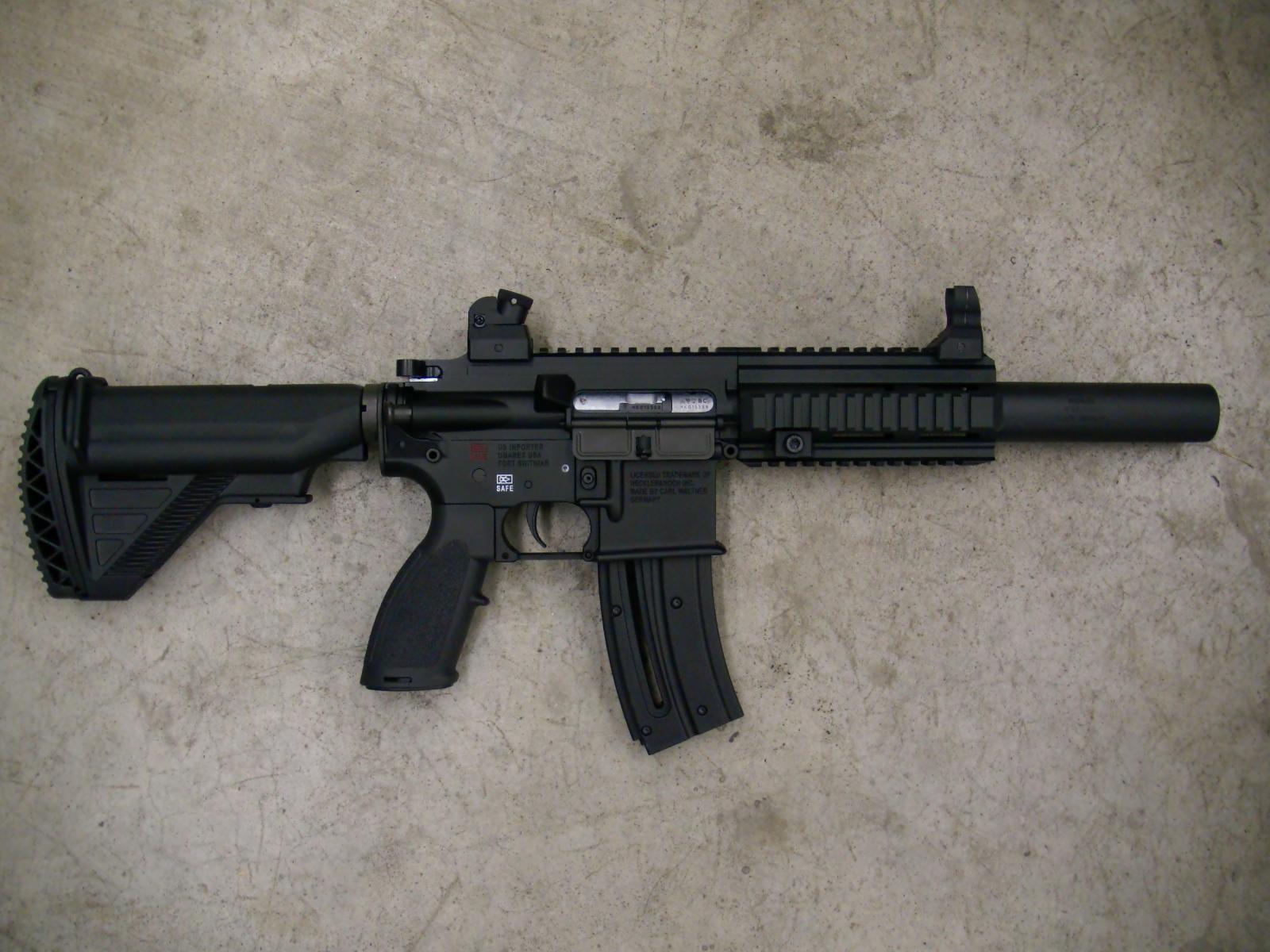 WTS: H&K 416 Pistol  22 LR - MississippiAutoArms com - forum Saiga