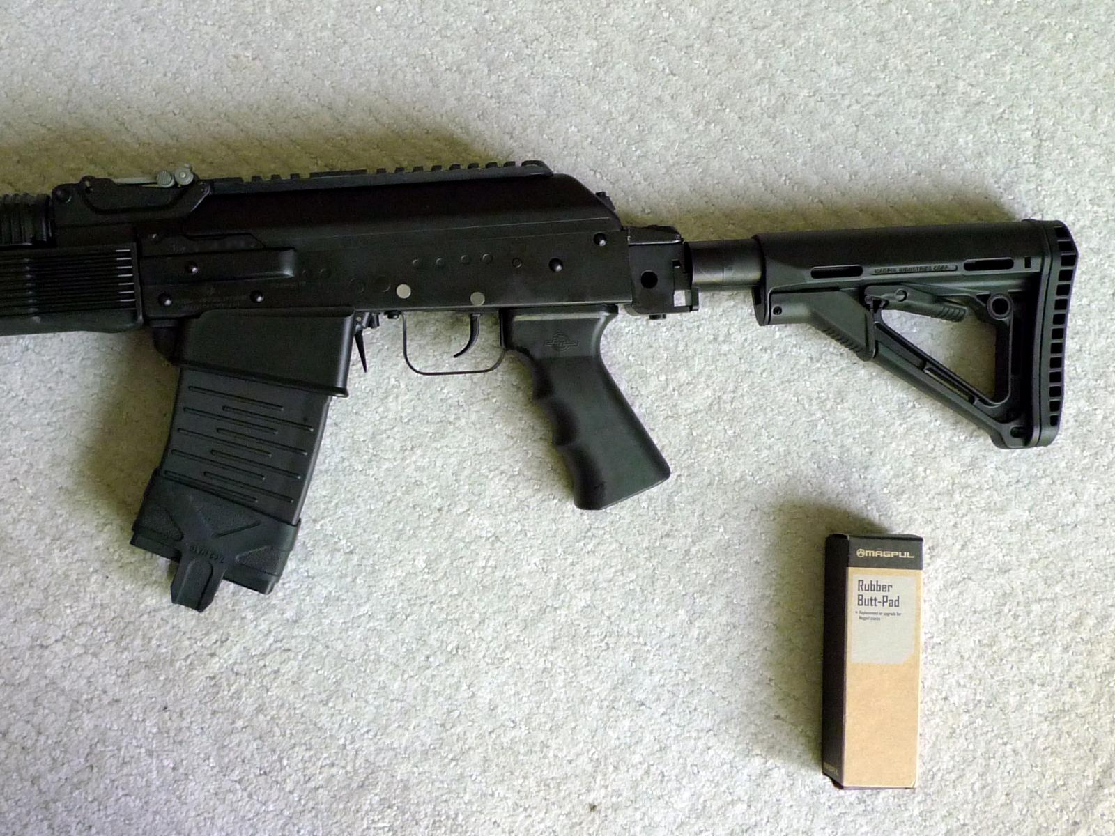 Bonesteel Vepr-12 folding stocks are back - Vepr-12 - forum Saiga-12 com
