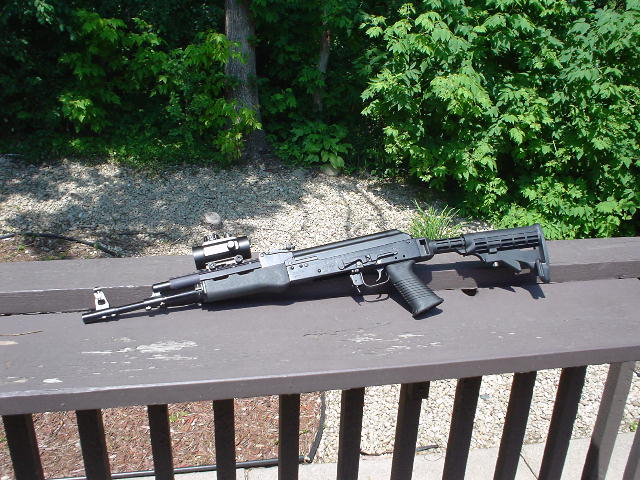 Poll: Have you tried an Ultimak rail on your Saiga rifle