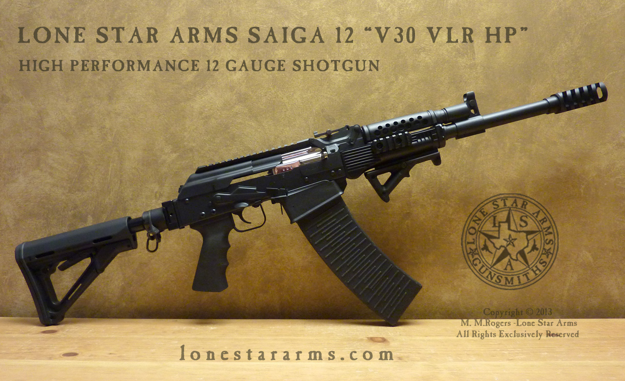 Locksmith M4S M&P SBS 3/4 RH View - Lone Star Arms Saiga